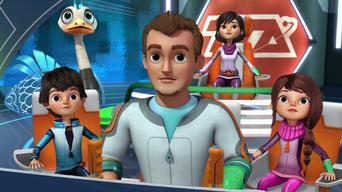 Episode 8: The First Day of Galactic School / Miles Underwater